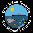 dive and sea tenerife logotipo