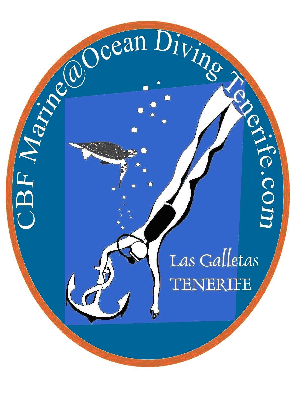 ocean diving tenerife logotipo